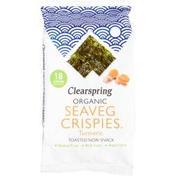 Seaveg crispies turmeric bio