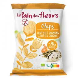 Chips met linzen en ui bio
