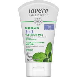 Pure Beauty 3in1 reiniger - peeling - masker