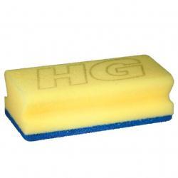 Sanitairspons blauw/geel