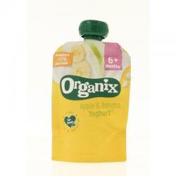 Apple & banana yoghurt 6+ maanden bio