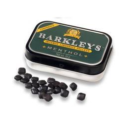 Liquorice pellets menthol
