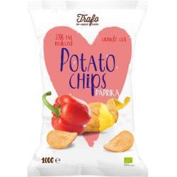 Chips light paprika