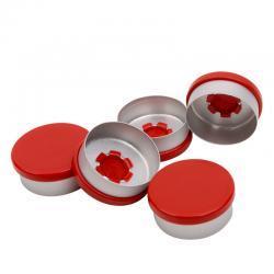 Aluminium felskap rood kombi/r rood 20mm