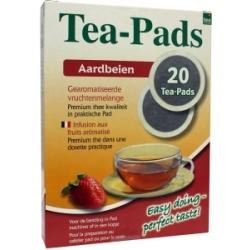 Strawberry vruchtmelange tea pads
