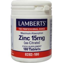 Zink (zinc) citraat 15 mg