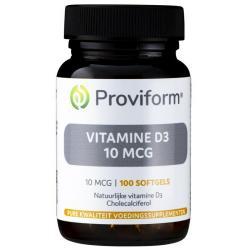 Vitamine D3 10 mcg