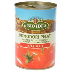Tomaten gepeld (blik)