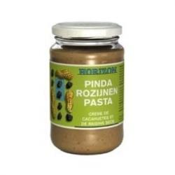 Pinda-rozijnenpasta eko