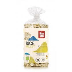 Rijstwafels met gierst