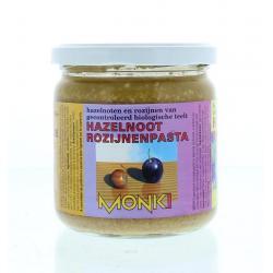 Hazelnoten-rozijnenpasta eko