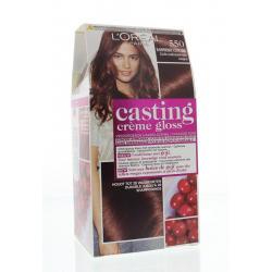 Casting creme gloss 550 Licht Mahoniebruin