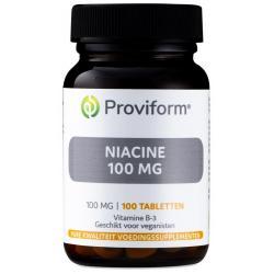 Vitamine B3 niacine 100 mg