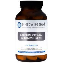 Calcium magnesium citraat 2:1