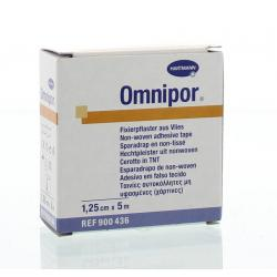 Omnipor hechtpleister non-woven 5x1.25 hypo-all