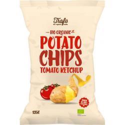 Chips tomaten ketchup