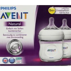 Zuigfles natural 2-pack 125 ml