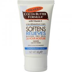 Cocoa butter formula tube