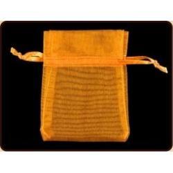 Organza buidel oranje