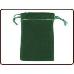 Pendelbuidel fluweel groen