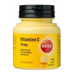 Vitamine C 70mg citroen
