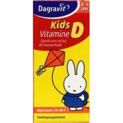 Vitamine D druppels aquosum kids