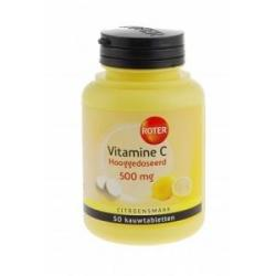 Vitamine C 500mg citroen