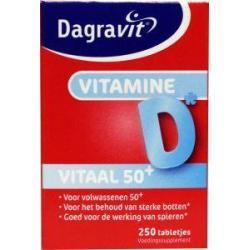 Vitaal 50+ vitamine D pot