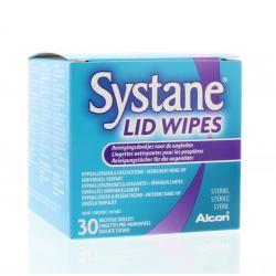 Lid wipes