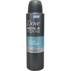 Deodorant spray men clean comfort