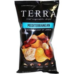 Mediterranean aardappelchips