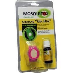 Mosquitox armband etherische olie