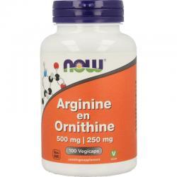 Arginine & ornithine 500/250