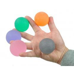 Handtrainer gelbal sterk oranje