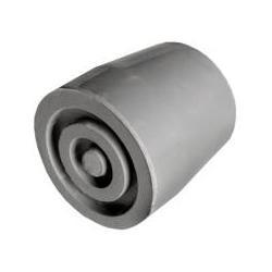 Kruk- en stokdoppen 25/27 mm grijs