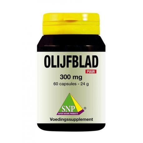 Olijfblad 300 mg puur