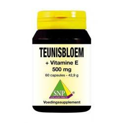 Teunisbloem vitamine E 500 mg