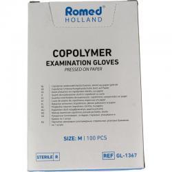 Onderzoekhandschoen steriel copolymeer M