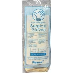 Operatiehandschoen niet steriel gepoederd 6