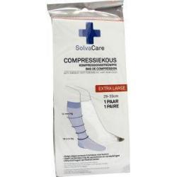 Compressiekous wit XL