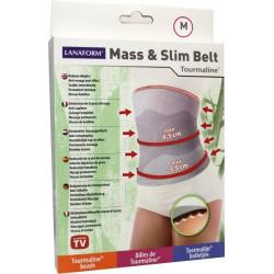 Mass & slim toermaline belt M