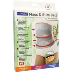 Mass & slim toermaline belt XL