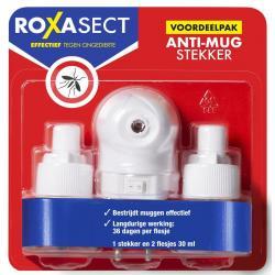 Anti mug stekker actieverpakking 2 navulverpakking
