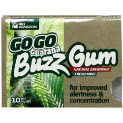 gogo guarana buzz gum sv ts