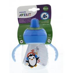 Avent tuitbeker pinguin 12m+bl
