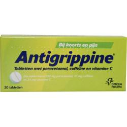 Antigrippine 250mg paracetamol