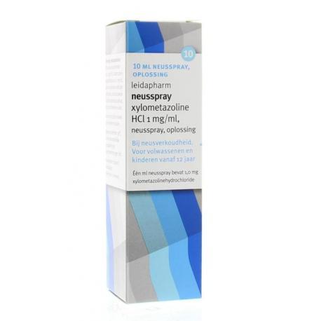 Xylometazoline HCI 0.1% spray