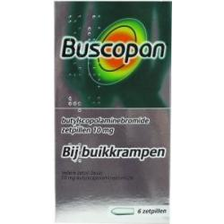 Buscopan 10 mg zetpil