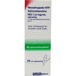 Neusdruppels xylometazoline