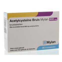 Acetylcysteine 600 mg bruis
